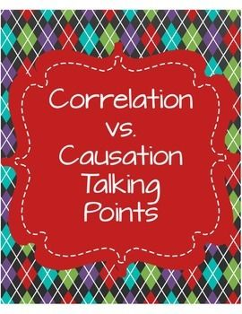 correlation vs causation talking points assessment student and the o 39 jays. Black Bedroom Furniture Sets. Home Design Ideas