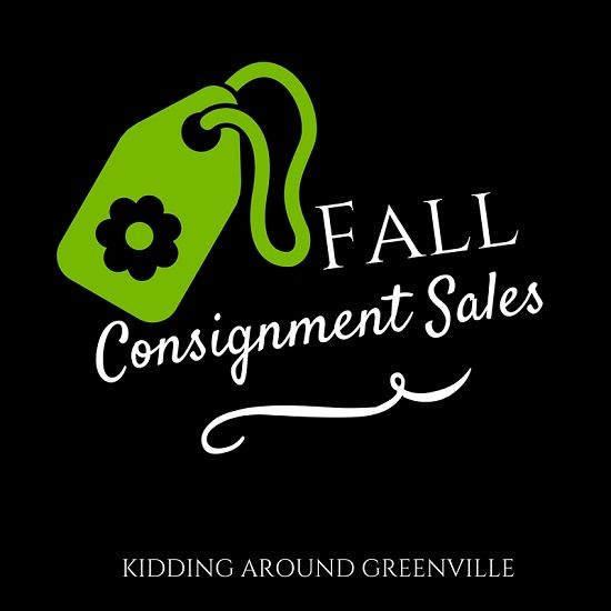 Fall Consignment sales in Greenville, SC by kiddingaroundgreenville // yeahTHATgreenville