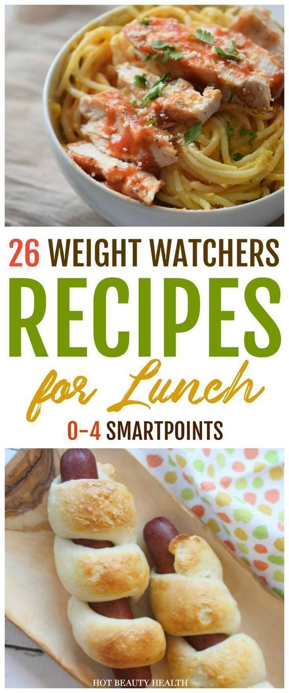 The Best Weight Watchers Lunches With Smart Points - Hot Beauty Health