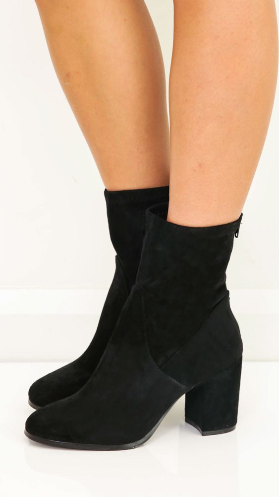 Therapy Shoes - Hoxton Boots In Black