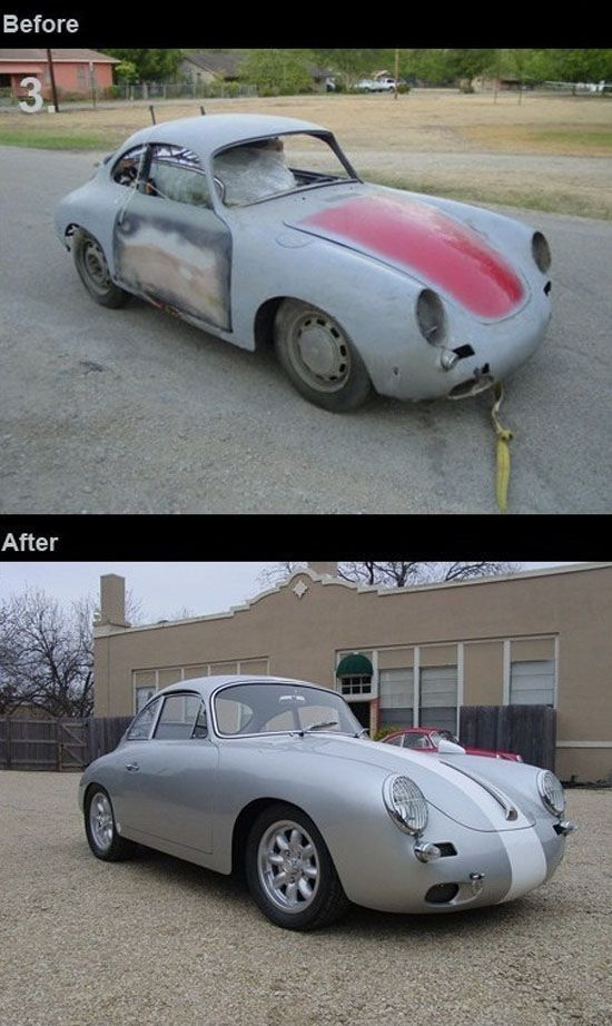 Retro car restoration – before and after pics | Lost, Found and ...