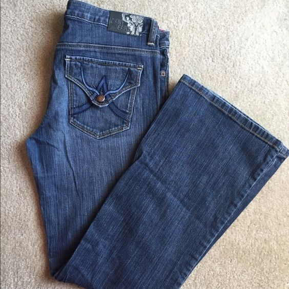 DKNY jeans DKNY jeans. Hardly worn. Cute pocket detailing. DKNY Jeans
