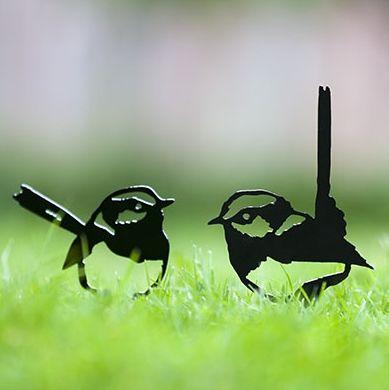 Wren 3 on spike - hardtofind. #hardtofind #outdoor #gifts