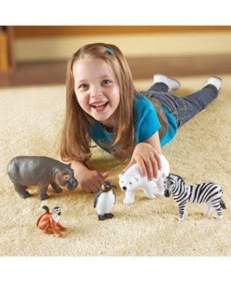 Learning Resources Jumbo Zoo Animals Zoo Animals Animals Pet Toys