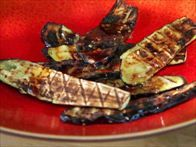 Get this all-star, easy-to-follow Grilled Japanese Eggplant recipe from Bobby Flay