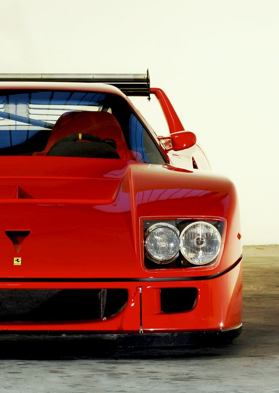 Ferrari F40 GT - if money were no object, this would be the first thing I purchased