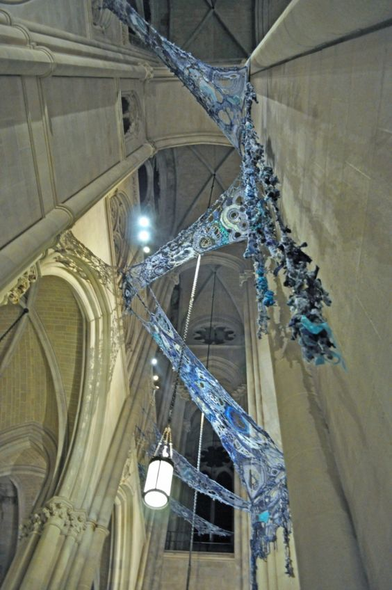 Mater Matrix Mother and Medium art installation at NYC's Cathedral St. John the Divine