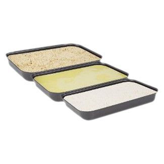 Found it at Wayfair - Fox Run Craftsmen Non-Stick Breading Pans (Set of 3)