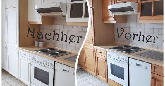 Werbung Wegen Verlinkung Und Markenerkennung Vor Kurzem Stand Bei Mir Ein Grossprojekt An Mein Tochterchen Zieht Ba In 2020 Kuchenrenovierung Kreide Renovierung