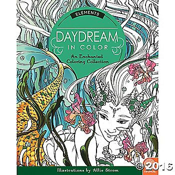 Daydream in Color: Elements explores the beauty of earth, wind, fire and water in the most unexpected ways! Each design captures magical details that color ...