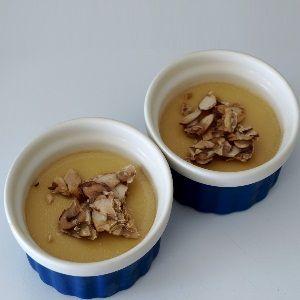 Maple Pots De Crème With Almond Praline recipe