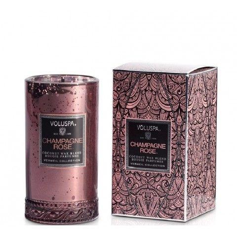 Voluspa candle in Champagne Rose