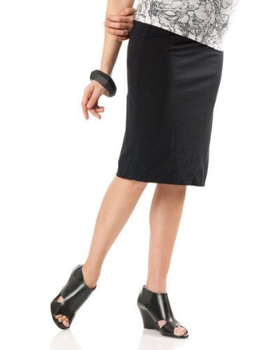A Pea in the Pod Collection: Velvet Under Belly Knee Length Pencil Fit Maternity Skirt $89.00