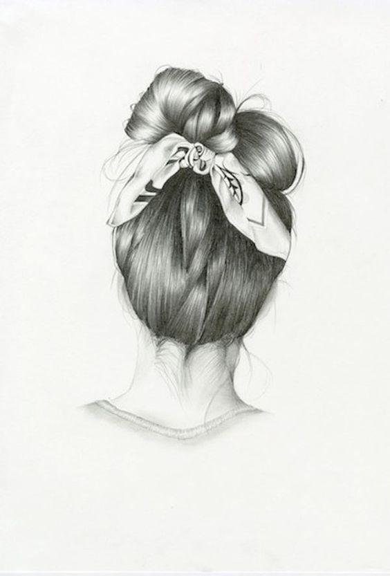 Superbes crayonnés de coiffures par Nettie Wakefield