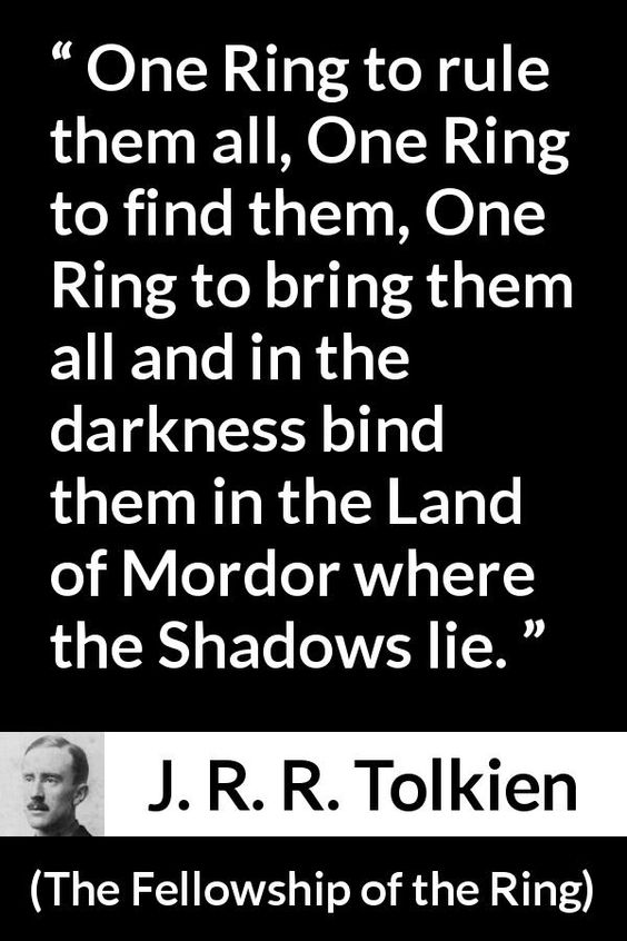 J R R Tolkien About Darkness The Fellowship Of The Ring 1954 Tolkien Quotes Fellowship Of The Ring Quotes