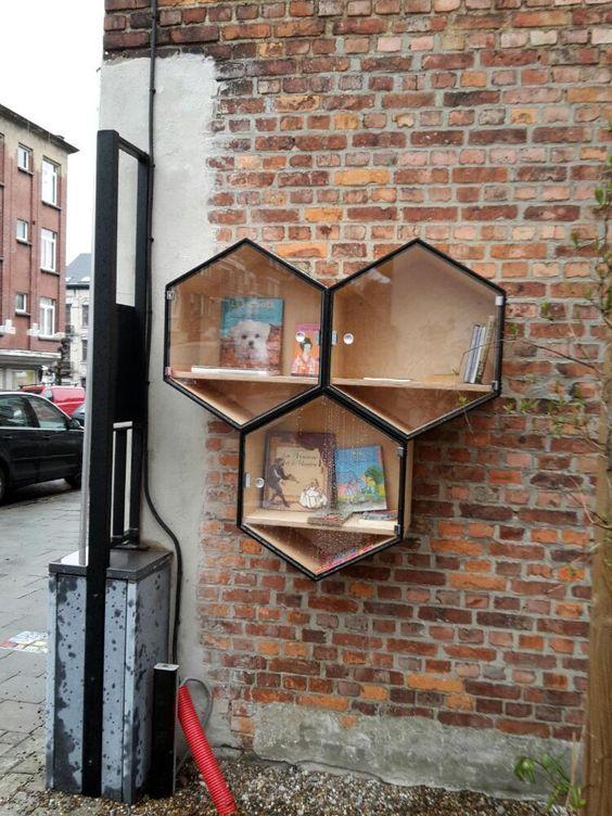 Ruche à livres Schaarbeek 4