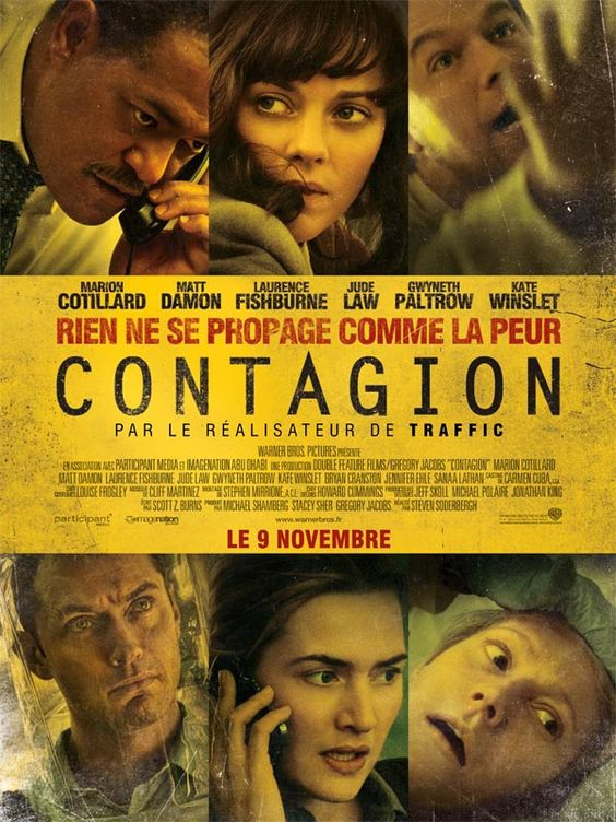 Contagion If you're not OCD before you watch this...