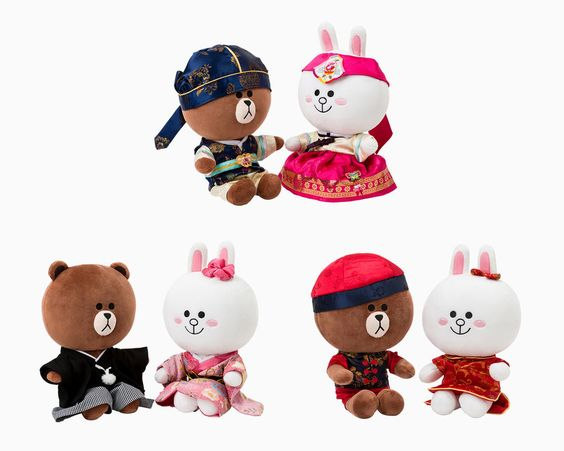 "LINE FRIENDS BROWN & CONY Character Global Costume Limited Edition Plush Toy 10""‪ #‎Korea‬ ‪#‎Japan‬ ‪#‎China‬ ‪#‎Travel‬ ‪#‎LINEFRIENDS‬ ‪#‎Brown‬ ‪#‎Cony‬ ‪#‎GlobalCostumeEdition‬"