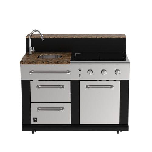 Master Forge Modular Outdoor Kitchen Bg179c Modular Sink Lowes Com Outdoor Kitchen Modular Outdoor Kitchens Outdoor Kitchen Cabinets