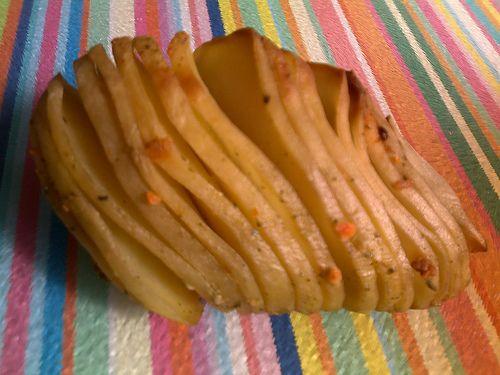 Receita: Batatas em lâminas