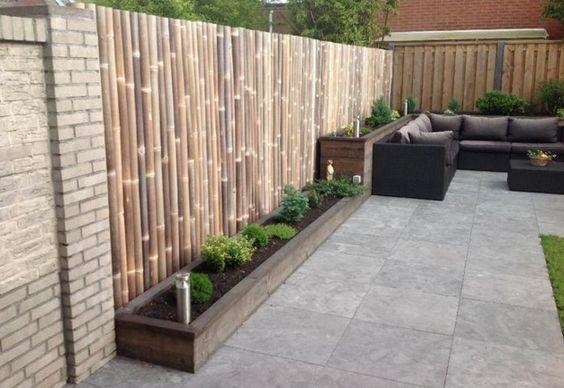 Breng oosterse sferen in je tuin met een bamboe schutting lentekriebels pinterest tuin - Oosterse tegels ...