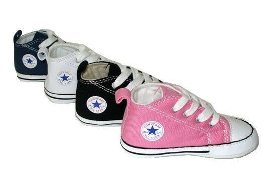 Converse First Star Crib Baby New Born Black, Navy, Pink & White Shoes NICE GIFT #Converse #CribShoes