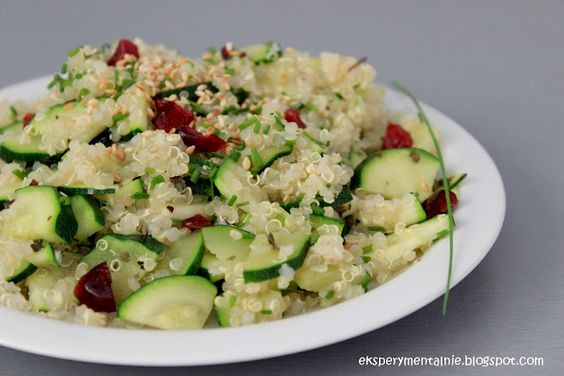 quinoa with zucchini, currants and dill | Gluten Free & Dairy Free ...