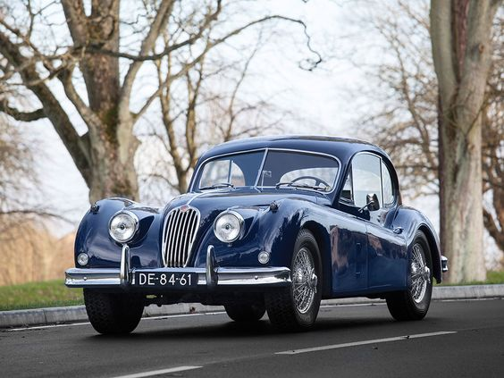 1955 #Jaguar XK 140 SE Fixed Head Coupé  - #Lease with Premier, #RMSouthebys #ParisAuctions, #Blue, (Image Source rmsothebys.com #130)