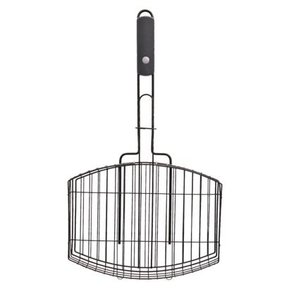 Grill basket from char-broil. With its nonstick surface, you can turn over, adjust and remove food without it sticking or falling into the coals. The stay-cool handle is comfortable to hold, even when you get close to the heat. #weddingregistry #bridalregistry #giftregistry #registry #summer #summertime #target $16.99