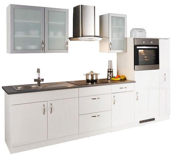 Küchenzeile mit Elektrogeräten »Peru«, Breite 270 cm Jetzt - küchenzeile 160 cm