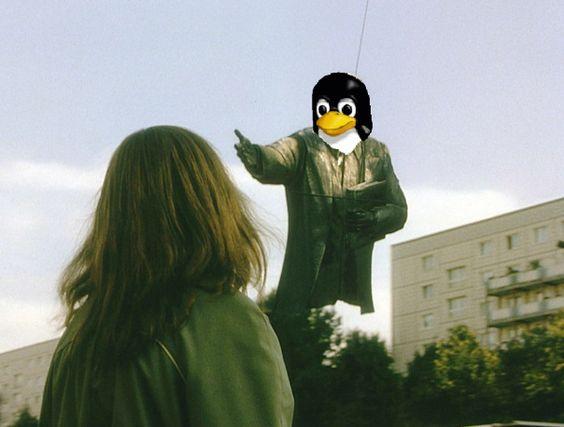 adios Linux