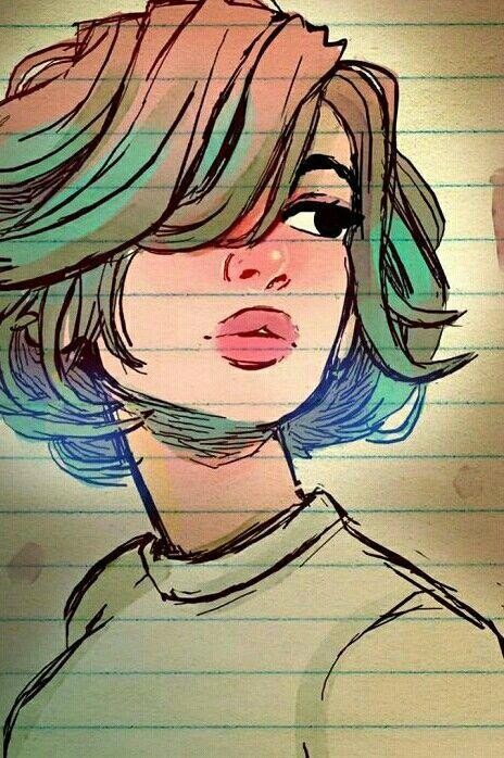 Mirando A La Nada Pensando En Vos Dibujos Impresionantes