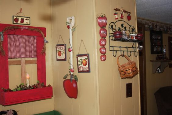 Decorating ideas apple decorations and kitchen designs on - Kitchen decorating ideas themes ...