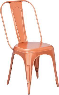 #Unisex #Metall #Stuhl #Onyx #4er #Se #kupfer Eine echte Rarität! Das Stuhl-Set ´´Onyx´´ beinhaltet vier stabile Stühle im angesagten Vintage-Stil. Sie bestehen aus robustem Metall und verleihen Ihrem Raum einen einzigartigen Charakter. - im Shabby Chic-Stil - praktisch stapelbar Maße: ca. 44 x 50 x 93,5 cm Material: Metall ACHTUNG: Zerlegte Lieferung zur Selbstmontage. Eine leicht verständliche Montageanleitung ermöglicht einen problemlosen Aufbau!