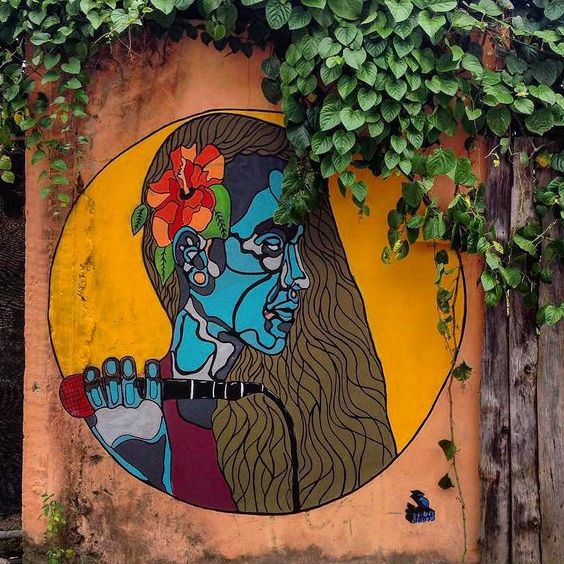 "tschelovek_graffiti: ""Работа для фестиваля @CabareteMusicArts от @atahuallparoyo в Санто-Доминго (Доминиканская респубика). #atahuallparoyo #3tamaroots #CabareteMusicArts #граффити_tschelovek #streetart #urbanart #graffiti #mural #стритарт #граффити #wallart #graffitiart #art #paint #painting #artederua #grafite #arteurbana #wall #artwork #graff #artist #graffiticulture #graffitiwall #streetart_daily #streetarteverywhere"""