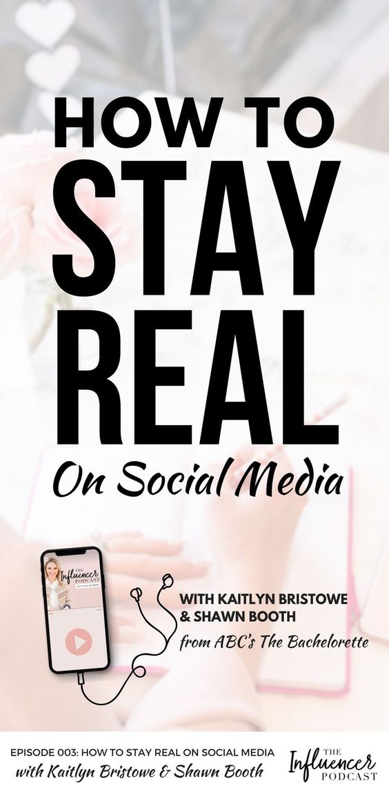 How to stay real on social media, The Influencer Podcast episode with Kaityln Bristowe and Shawn Booth from ABC's The Bachelorette. #SocialMedia #InfluencerMarketing #Instagram #TheBachelorette