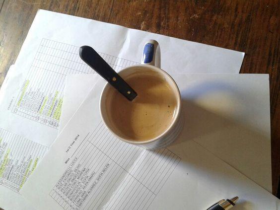 El café.  Amor eterno.