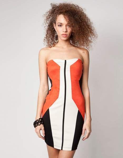 Vestido Bershka bodycon, de venta en www.laalfombrainfrarroja.tictail.com