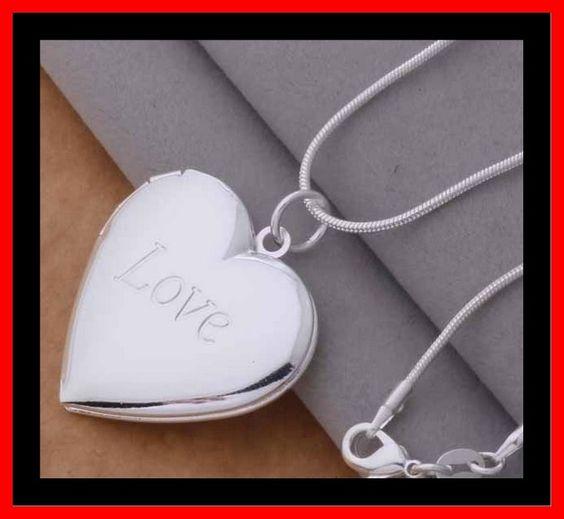 Hart voor foto met Love inscriptie