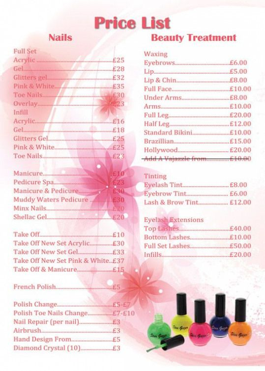 Apple Nails In Conroe Price List Price List Estheticians Estheticians Menu Nail Prices Nail Salon Prices Nail Salon Decor