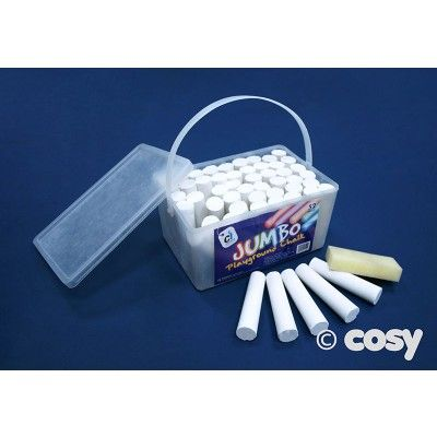 PLAYGROUND CHALK WHITE (JUMBO) - Art and Creative Expression - Cosy Direct