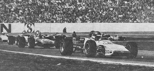 (30) Ronnie Peterson - March 712M Cosworth FVA - Smog March Engineering - (19) Francois Cevert - Tecno TF71 Ford BDA - Équipe Elf Tecno - V Deutschland Trophäe - III Jim Clark Gedächtnisrennen - 1971 European Championship, Round 1