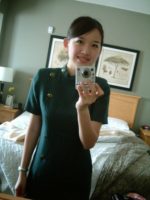 Eva Airlines Flight Attendants | Eva Air Beauty - Irene Chen