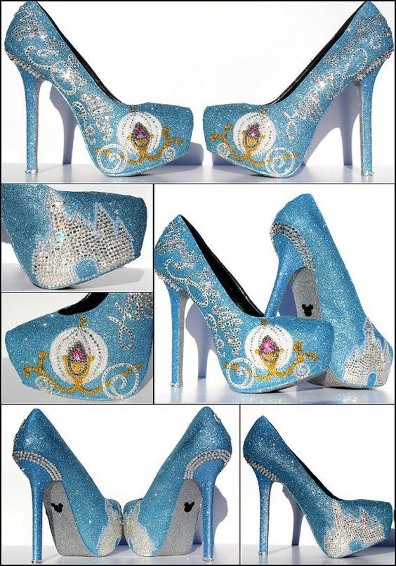 Cinderella-Heels Happily Ever After Heels mit von WickedAddiction
