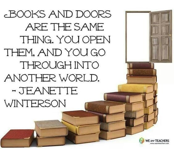Books and doors. I like this :)