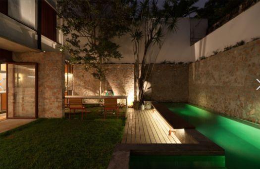 Ideias de decoração: Como ter uma piscina num jardim pequeno (fotos)