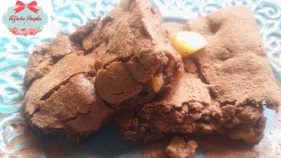 Cozinha Simples da Deia: Brownie de Castanha e Nozes