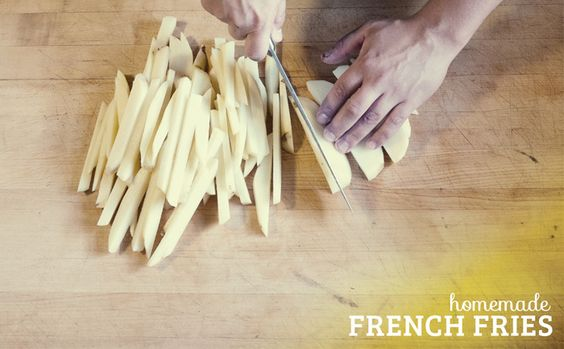 Homemade French Fries. Fantastic recipe and tutorial.