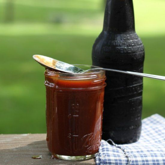 Root Beet BBQ Sauce-Rich and tangy, this is fantastic slathered on ribs, chicken, burgers, and even baked beans!