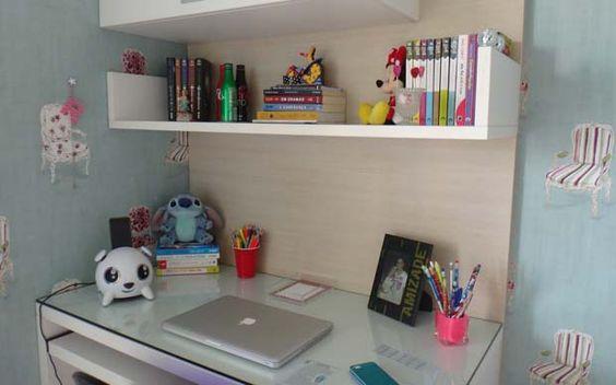 escrivaninha para quarto feminino tumblr Pesquisa Google  ~ Quarto Planejado Escrivaninha